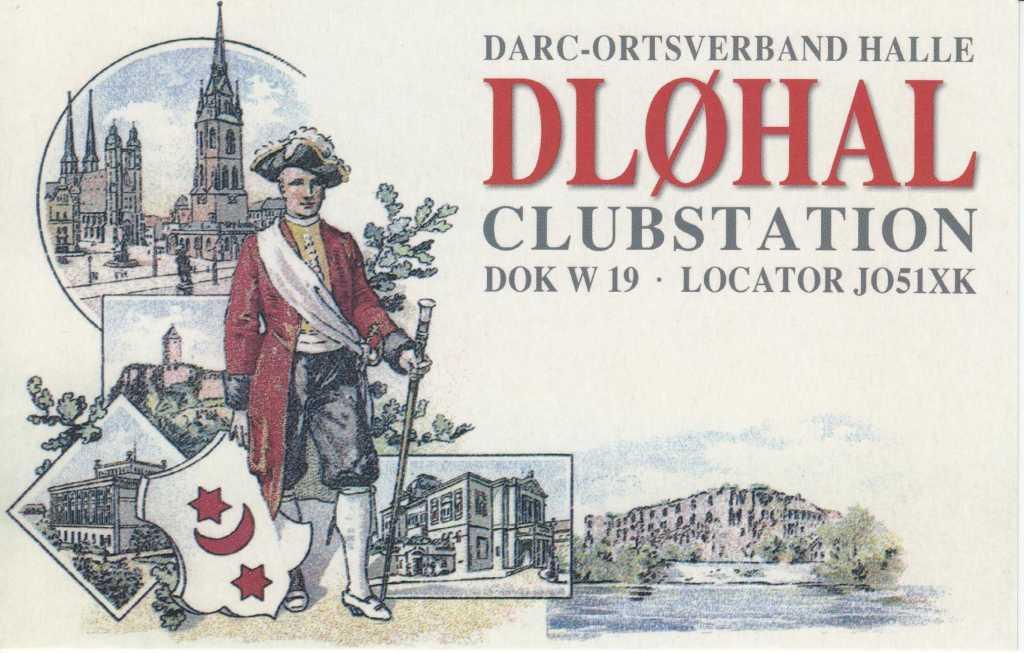 QSL-Karte DL0HAL