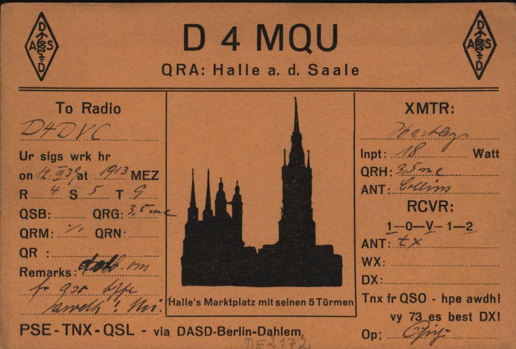 QSL - Karte
